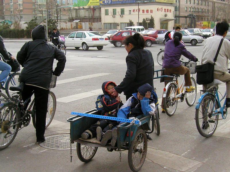 Beijing street scene - 2001 Beijing 2007