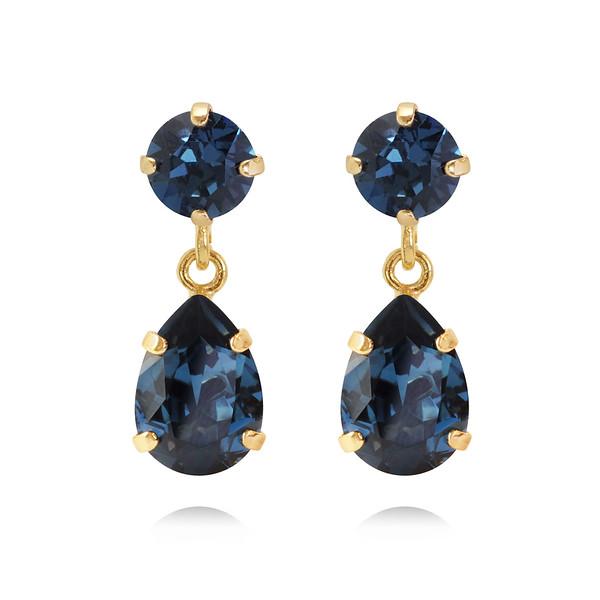 Mini Drop Earrings / Montana Gold