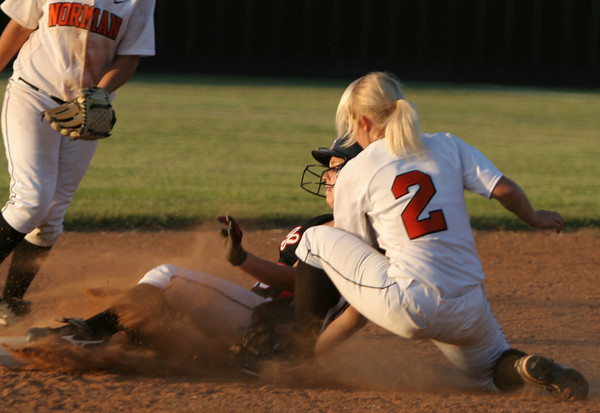 NHS v Mustang softball