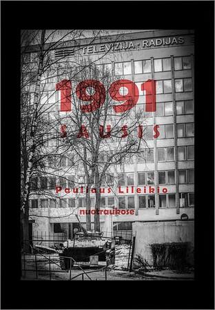 1991 SAUSIS-fotoparoda / 1991 JANUARY-photo exhibition