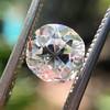 1.60ct Old Mine Cut Diamond, GIA H VS2 12