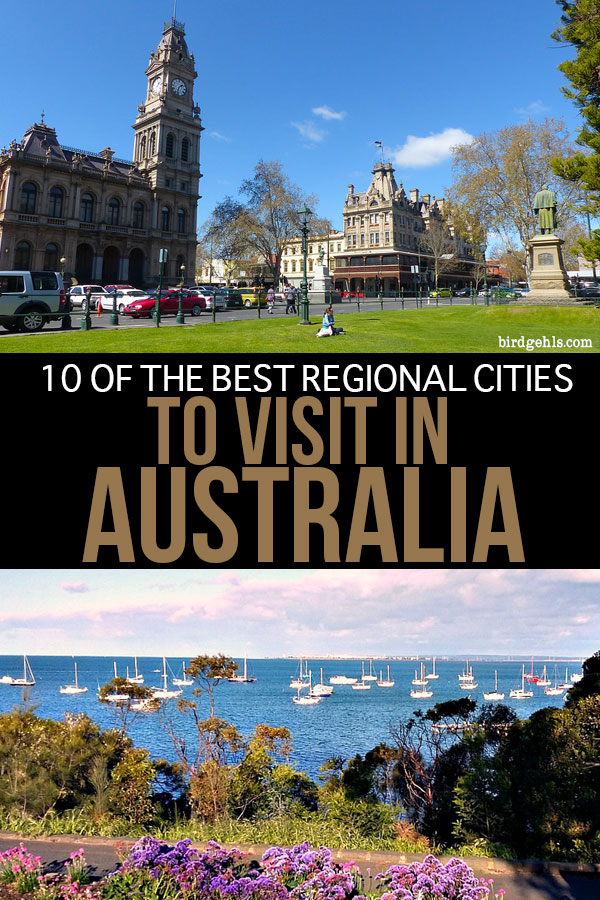 The capital cities in Oz are nice, but it's worth getting off the beaten path and going regional. Here are some of the best cities to visit in #Australia, such as Mount Gambier, Newcastle, Broken Hill and Bendigo. / Australia Travel Tips /