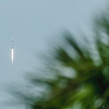 Crew Dragon Demo 2 Aboard a SpaceX Falcon 9