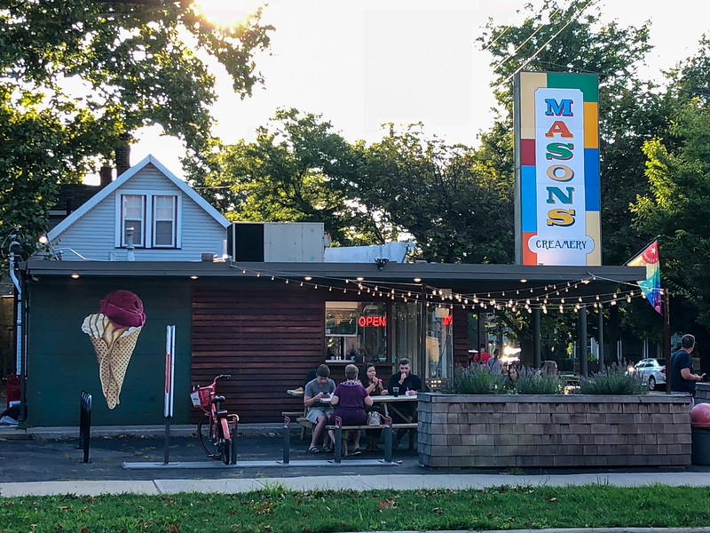 Mason's Creamery in Cleveland