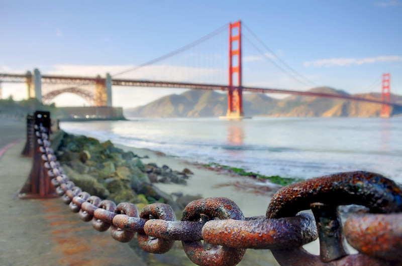 Linked to the Golden Gate Bridge