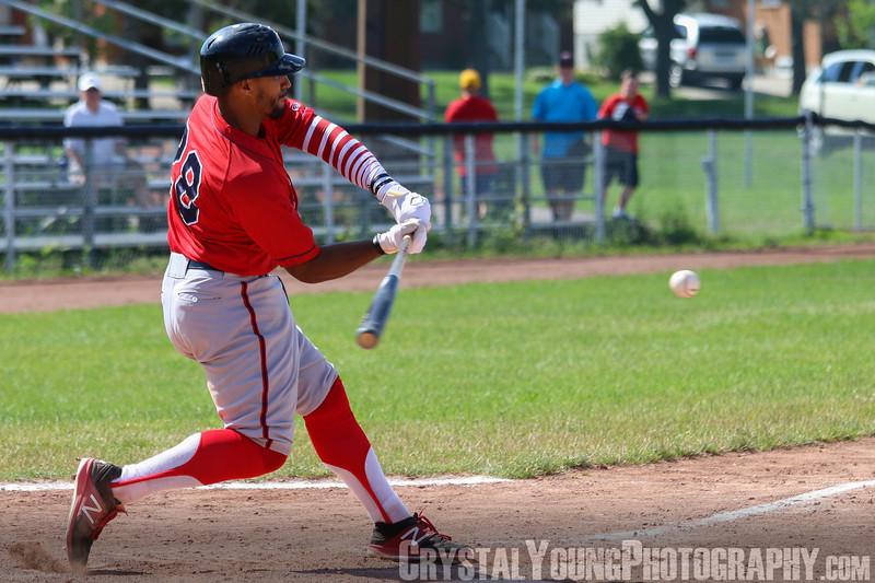 Brantford Red Sox at Hamilton Cardinals July 2, 2017