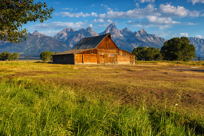 Moulton Barn, Grand Teton National Park. Wyoming, USA.