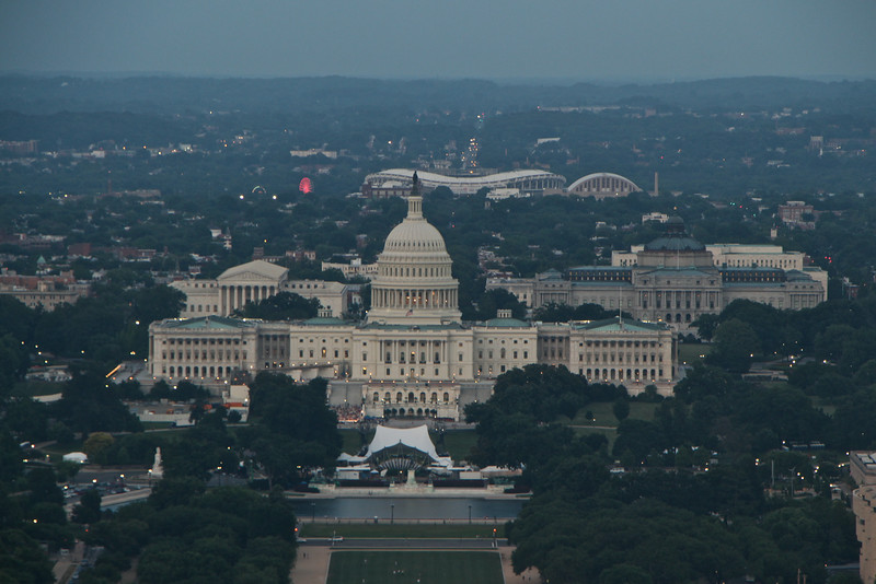 Washington Monument Sunset  583