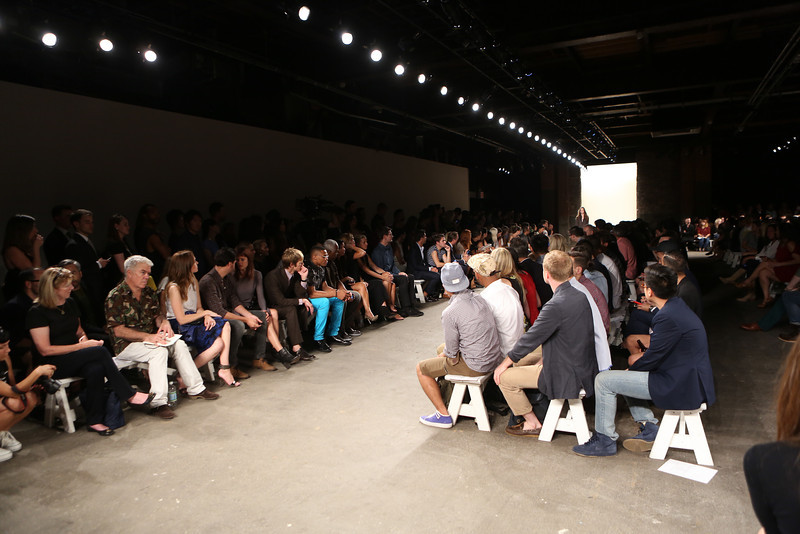 NEW YORK, NY - SEPTEMBER 07:  A general view of the atmosphere during Billy Reid's spring 2013 fashion show during Mercedes-Benz Fashion Week at Eyebeam on September 7, 2012 in New York City.  (Photo by Chelsea Lauren/Getty Images)