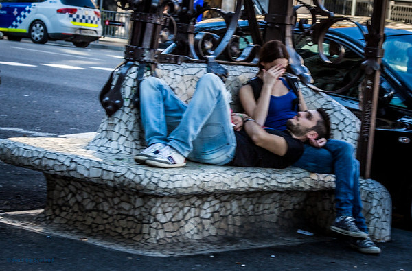 Love on the streets of Barcelona
