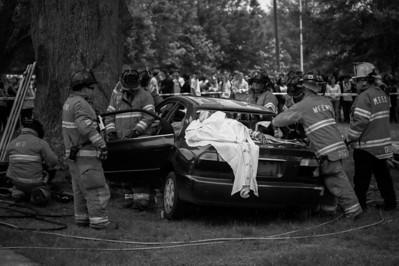 2014-05-02 BHS Dream Team - Crash Scene