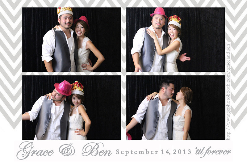 Grace and Ben Wedding Photo Booth Prints