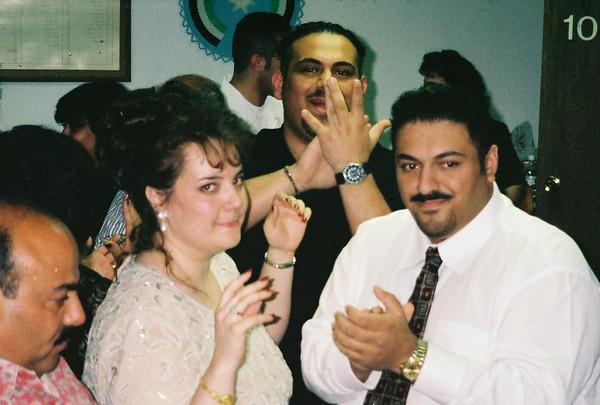 Sammer & Chantal Haddad's Party @ The Jordanian Center April 05, 1997