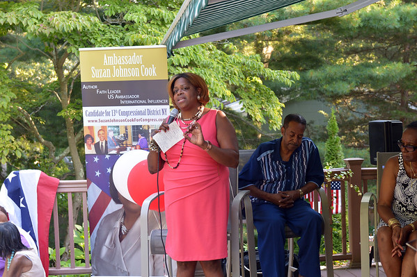 Ambassador Suzan Johnson Cook  Candidate for 13th Congressional District, NY