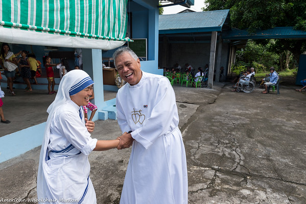Visit to Missionaries of Charity