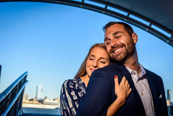 NNK - Amanda and Harry - Engagement - Hoboken Train Station (8 of 77)