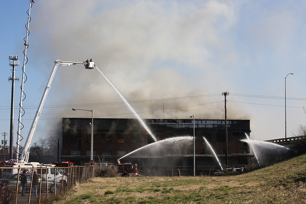 Tire Warehouse Fire 03/05/2010
