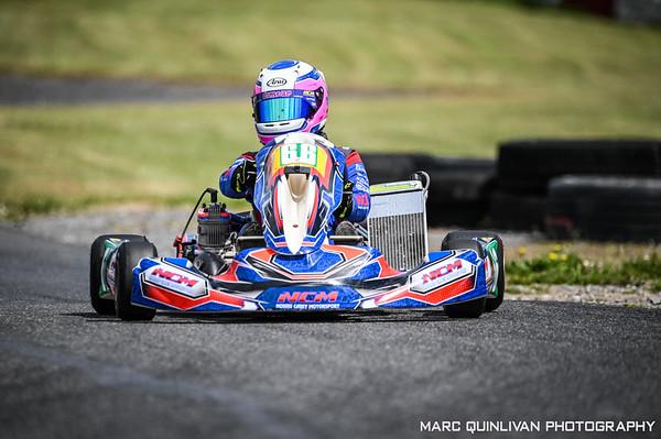 Motorsport Ireland Karting Championship 2021 - Round 1 - Galway - Éimear Carey