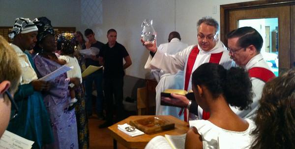 Pentecost Baptisms