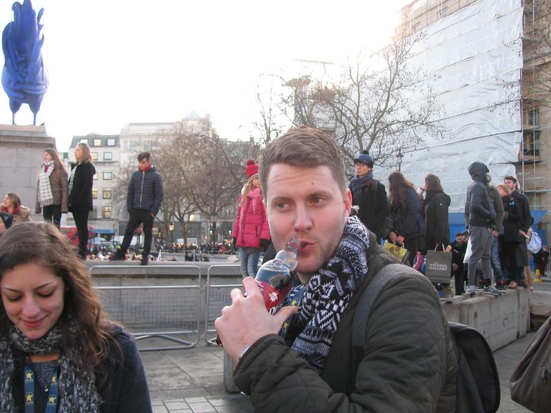 Ben drinking Dr Pepper.JPG
