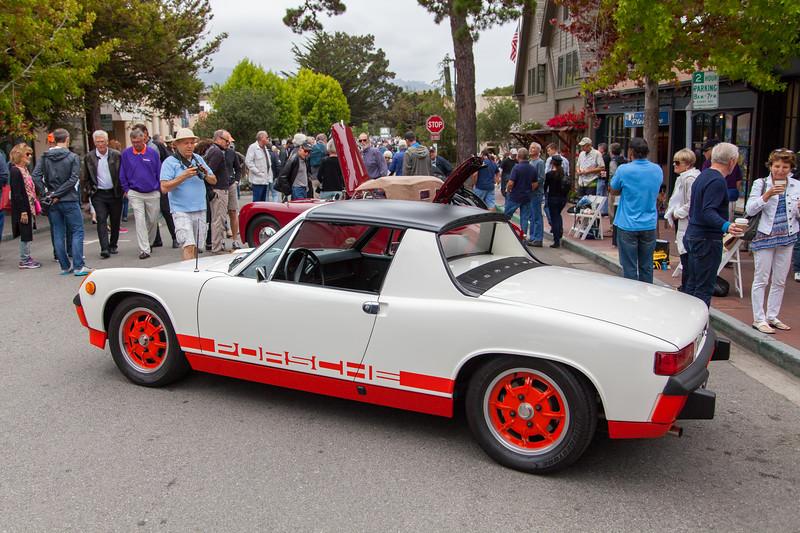 """1974 Porsche 914 LE Targa """"Creamsicle"""""""