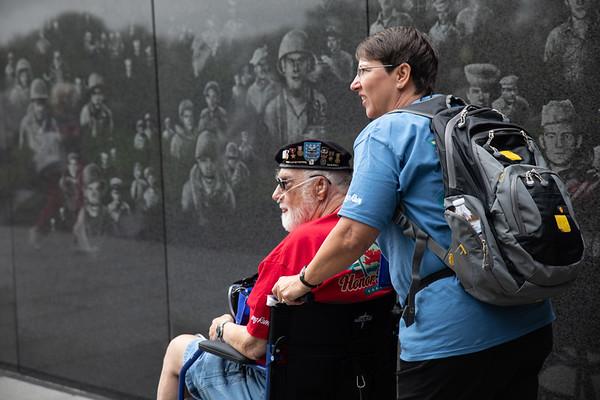 Korean,  Lincoln, Vietnam Memorials September 2018