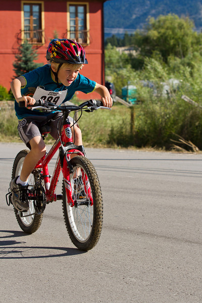 Triathlon - Heart of the Rockies - Young Hearts - Invermere, July 2011