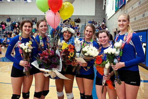Bothell Volleyball - 2013 Senior Night