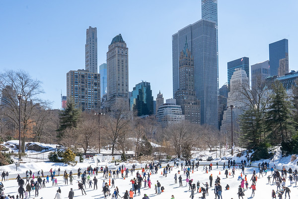 Central Park today - February 21, 2021