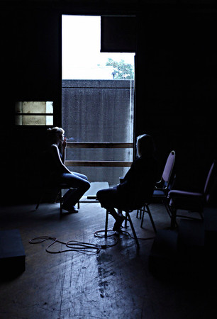 Evil Dead The Musical Rehearsals 9/20-21/09