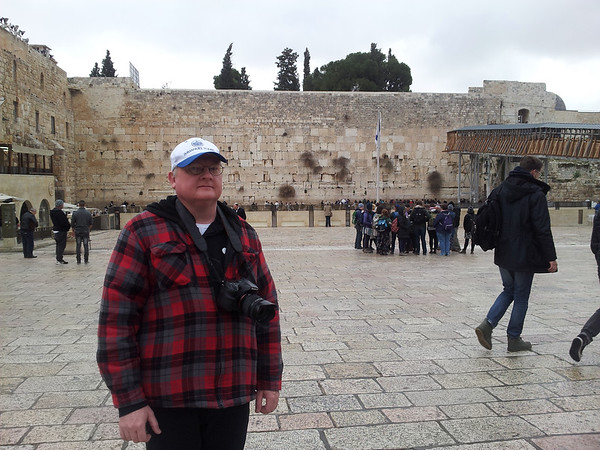 2017.01 Father Martin in Holy Land