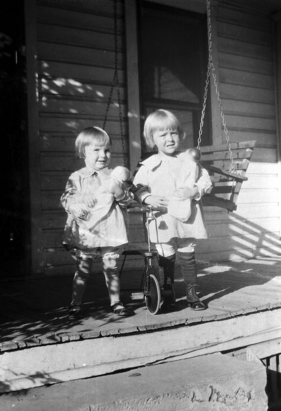This is Helen Dugan and Goldie Gladys Glines ca 1927.