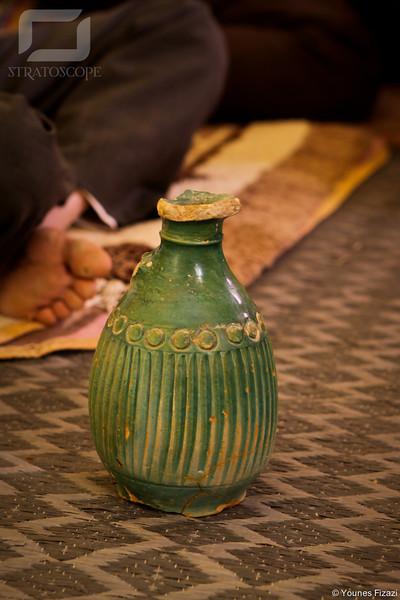 Ce vase aurait plus de 1200 ans... et fait la fierté des habitants de Ich