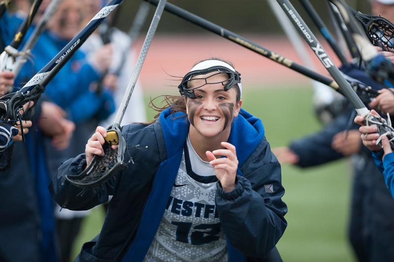 Westfield State University Women's Lacrosse v Framingham, April 2018