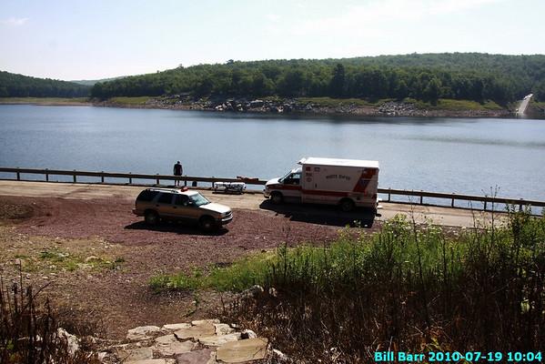Rescue, FE Walter Dam, White Haven FD 7/19/10