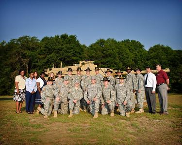 2011 Armor School Group Photos
