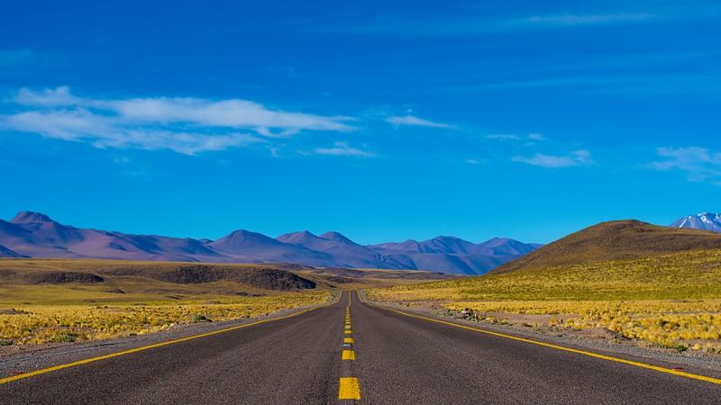 loneliest highway in america - road trip from las vegas