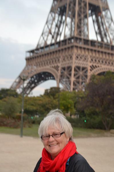 Eiffel Tower, Paris, France - 2016