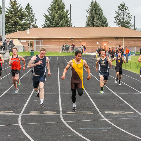 Western Divisionals - 200m races