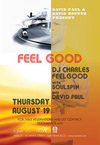 Feelgood with Charles Feelgood @ Harlot SF 8.19.10