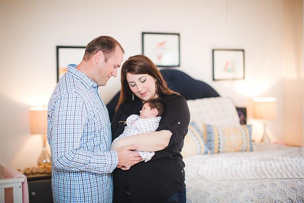 Elodie Newborn Lifestyle 2.19.17