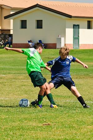 MWR Sigonella Soccer 1st game set 2 of 2