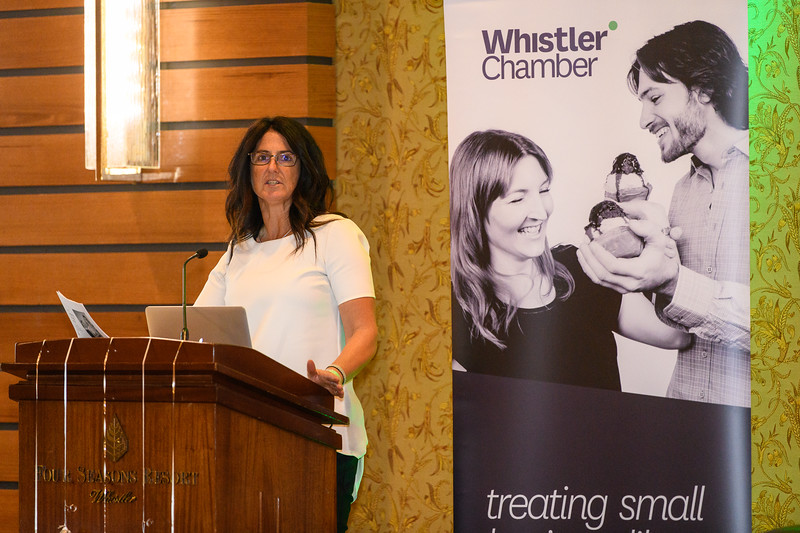 Whistler Chamber Power Lunch, Nov 22nd, 2018. Event photography by Scott Brammer Photography