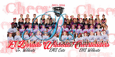 All El Dorado Football & Cheer Team Prints