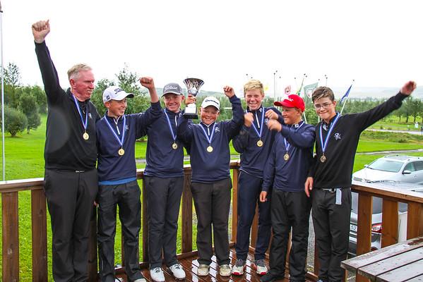 Íslandsmót golfklúbba 15 ára og yngri drengir