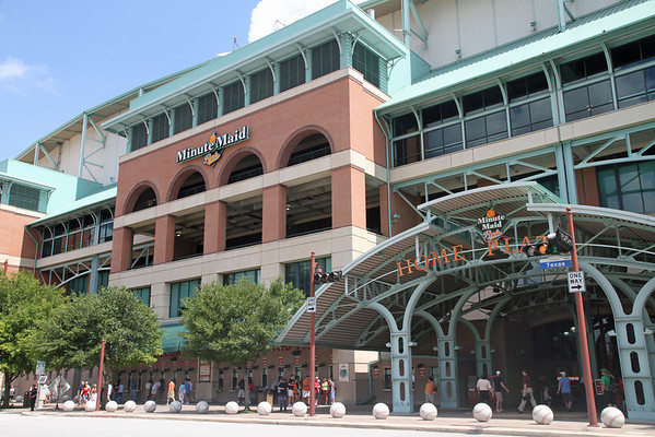 BASEBALL PARKS - MINUTE MAID PARK - HOUSTON ASTROS