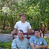 Daniel with David and Noah