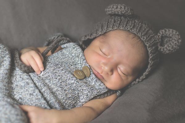 Baby Leo Newborn Shoot