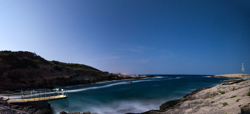 Cala Degli Inglesi (English Cove) - San Domino Island - Tremiti, Foggia, Italy - August 21, 2013