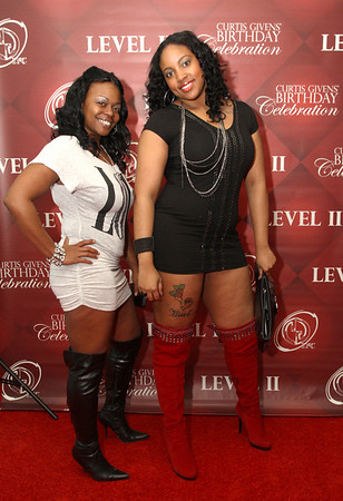 Curtis Givens Birthday Celebration Part II @ Level II